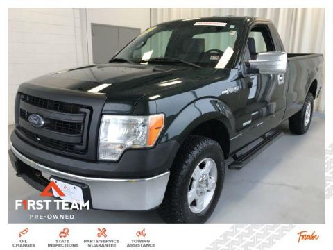 Pre-Owned 2013 Ford F-150 4WD Reg Cab 145 XL 4WD Trucks