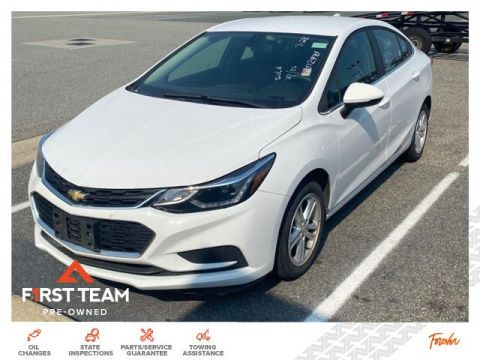 Pre-Owned 2018 Chevrolet Cruze 4dr Sdn 1.4L LT w/1SD FWD Cars