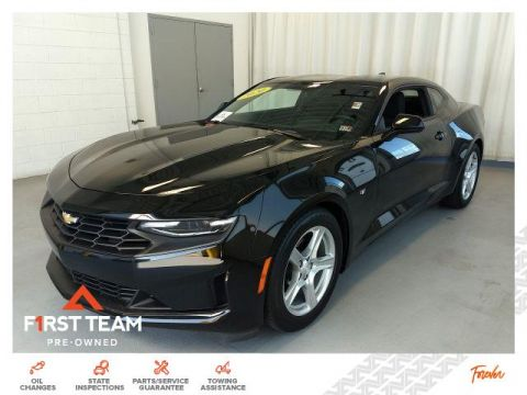 Pre-Owned 2020 Chevrolet Camaro 2dr Cpe 1LT RWD Cars
