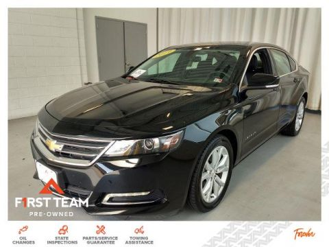 Pre-Owned 2019 Chevrolet Impala 4dr Sdn LT w/1LT FWD Cars