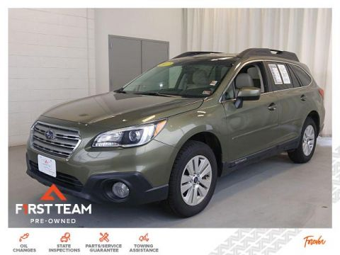 Pre-Owned 2017 Subaru Outback 2.5i Premium AWD SUVs